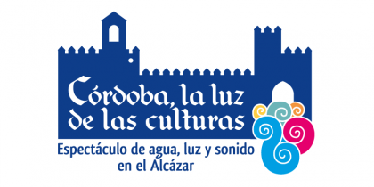 Diseño logotipo espectáculo Córdoba la luz de las Culturas