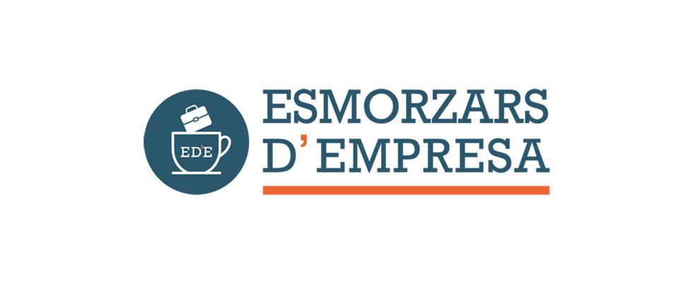 logotipo esmorzars d'empresa