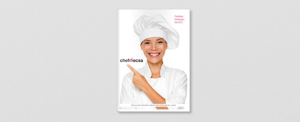 Portada catálogo para ChefMecsa