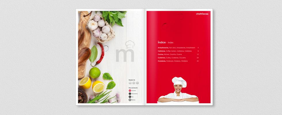Interior catálogo ChefMecsa