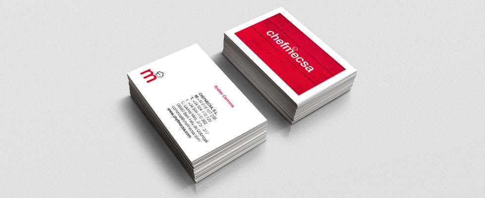 Diseño de identidad corporativa y catálogo para chefmecsa